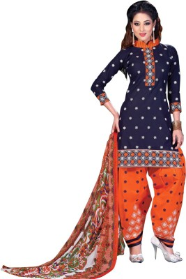 Family Shop Cotton Embroidered Salwar Suit Dupatta Material