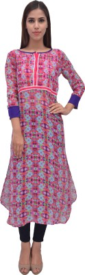 ARYA The Design Gallery Georgette Printed Kurta Fabric