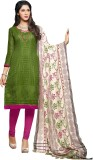 Aasvaa Net Printed Salwar Suit Dupatta M...