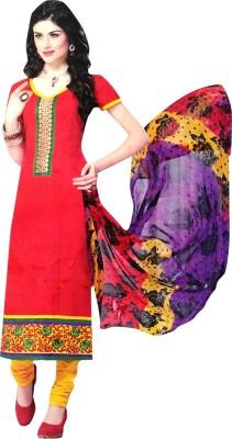 Dulhanboutiqe Cotton Printed Salwar Suit Dupatta Material