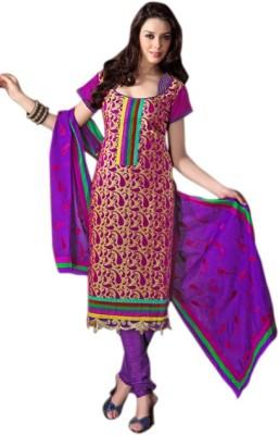 Variation Jacquard Embroidered Salwar Suit Dupatta Material