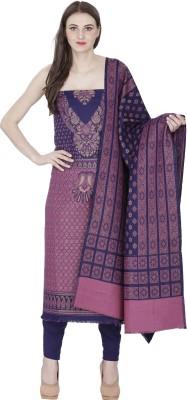 Indo Essence Wool Woven Salwar Suit Dupatta Material