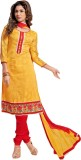 Typify Jacquard Embroidered Salwar Suit ...