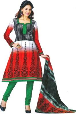 Revva Cotton Printed Dress/Top Material