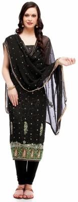 Saugat Cotton Polyester Blend Solid Salwar Suit Dupatta Material