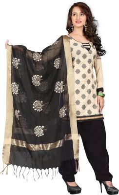 BanoRani Jute Embroidered Salwar Suit Dupatta Material