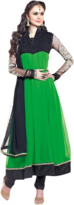 Vishal Georgette Solid Salwar Suit Dupatta Material