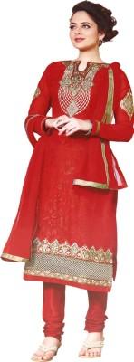 Zubeda Vol 3 Brasso Embroidered Semi-stitched Salwar Suit Dupatta Material