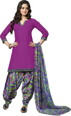 Vastrani Cotton Printed Dress/Top Material
