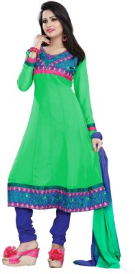 Khushali Georgette Embroidered Dress/Top Material