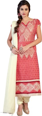 Hitansh Cotton Embroidered Salwar Suit Dupatta Material