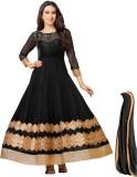 Luxuria Net Self Design Salwar Suit Dupa...