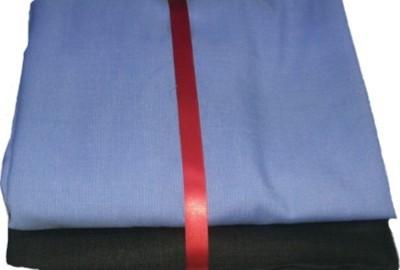 HI CHOICE Polyester Self Design Shirt & Trouser Fabric