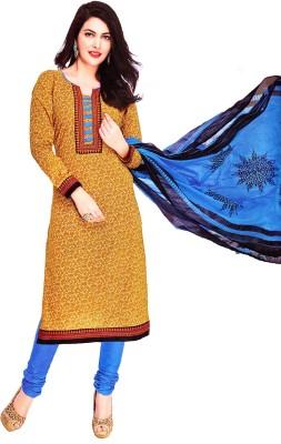 Life Style Fashion Cotton Floral Print Salwar Suit Dupatta Material