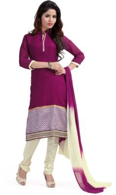De Marca Net Embroidered Salwar Suit Dupatta Material