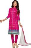 Vastrani Cotton Silk Blend Embroidered S...