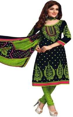 Chatri Fashions Crepe Geometric Print Dress/Top Material
