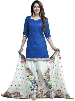 Akag Cotton Printed Salwar Suit Dupatta Material