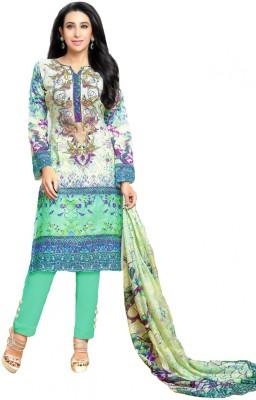 Fashion Stop Cotton Printed Salwar Suit Dupatta Material