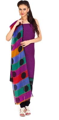Parchayee Crepe Printed Salwar Suit Dupatta Material