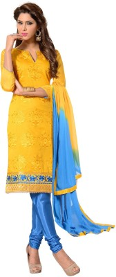 Ambaji Cotton Floral Print Salwar Suit Dupatta Material