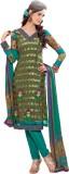 Vishal Georgette Solid Salwar Suit Dupat...