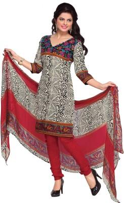 BanoRani Cotton Printed Salwar Suit Dupatta Material