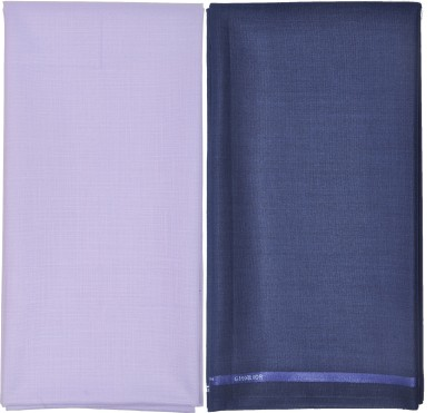 Gwalior Suitings Cotton Polyester Blend Self Design Shirt & Trouser Fabric
