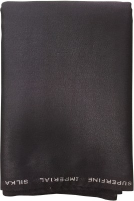 Ramkumar textile Polyester, Viscose Solid Trouser Fabric