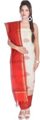 Aaditri Clothing Silk Self Design Salwar Suit Dupatta Material