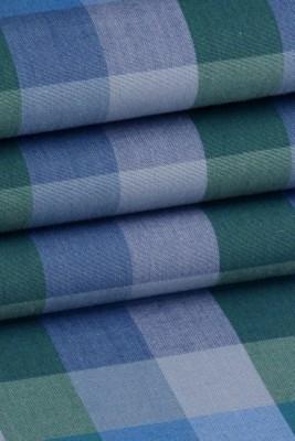 vanya Cotton Checkered Shirt Fabric