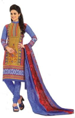 SangeetaFashion Cotton Printed Salwar Suit Dupatta Material