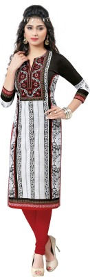 Salwar Studio Cotton Floral Print, Paisley Kurti Fabric(Un-stitched)