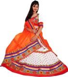 Venu Priya Cotton Embroidered Semi-stitc...
