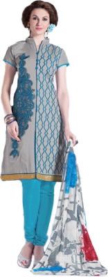 M.Rastogi & Sons Silk Self Design Salwar Suit Dupatta Material