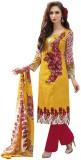 Styliner Cotton Printed Salwar Suit Dupa...