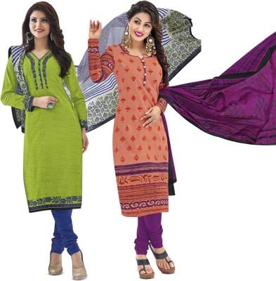 Mega Cotton Cotton Printed Salwar Suit Dupatta Material