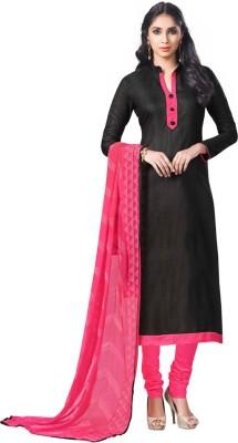 Diva Divine Cotton Silk Blend Solid Salwar Suit Dupatta Material