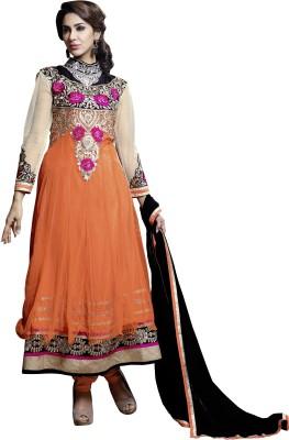 Vaani Net, Viscose Self Design Semi-stitched Salwar Suit Dupatta Material