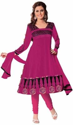 Ashika Georgette Self Design Salwar Suit Dupatta Material