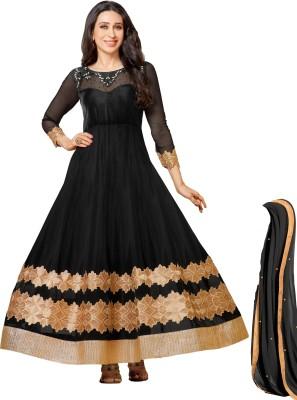 MF Net Embroidered Salwar Suit Dupatta Material(Un-stitched) at flipkart