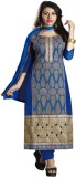 Lilots Chanderi Embroidered Salwar Suit ...