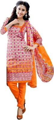 Melluha Jacquard Printed Salwar Suit Dupatta Material