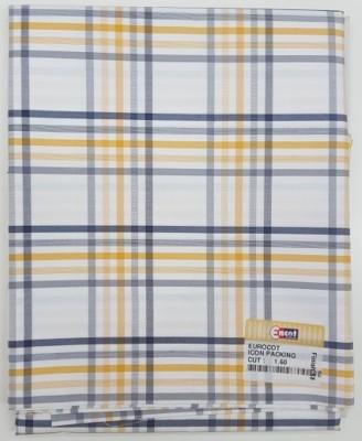 Encot Cotton Checkered Shirt Fabric