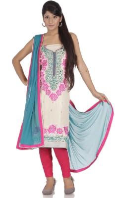 Chhabra 555 Tissue Self Design Salwar Suit Dupatta Material