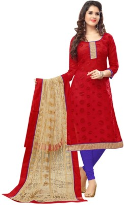 Morli Cotton Self Design Salwar Suit Dupatta Material