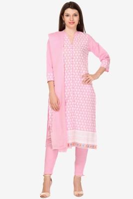 Varanga Cotton Embroidered Salwar Suit Dupatta Material