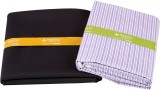 Makers Cotton Polyester Blend Striped Sh...