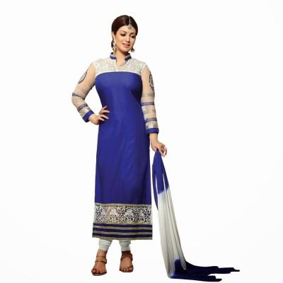 Fabboom Cotton Self Design Semi-stitched Salwar Suit Dupatta Material at flipkart