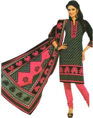 Kukee Cotton Printed Salwar Suit Dupatta Material
